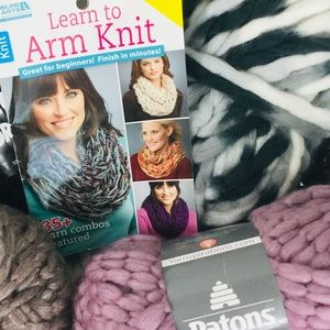 4️⃣ Yarn Skeins Perfect for Arm Knitting